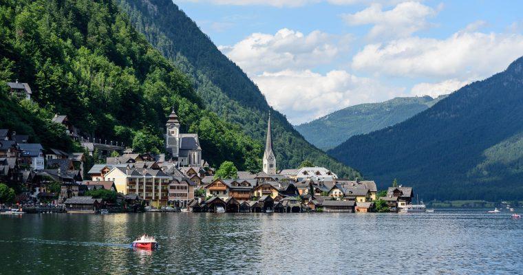Österreich: Panormaweg Hallstadt