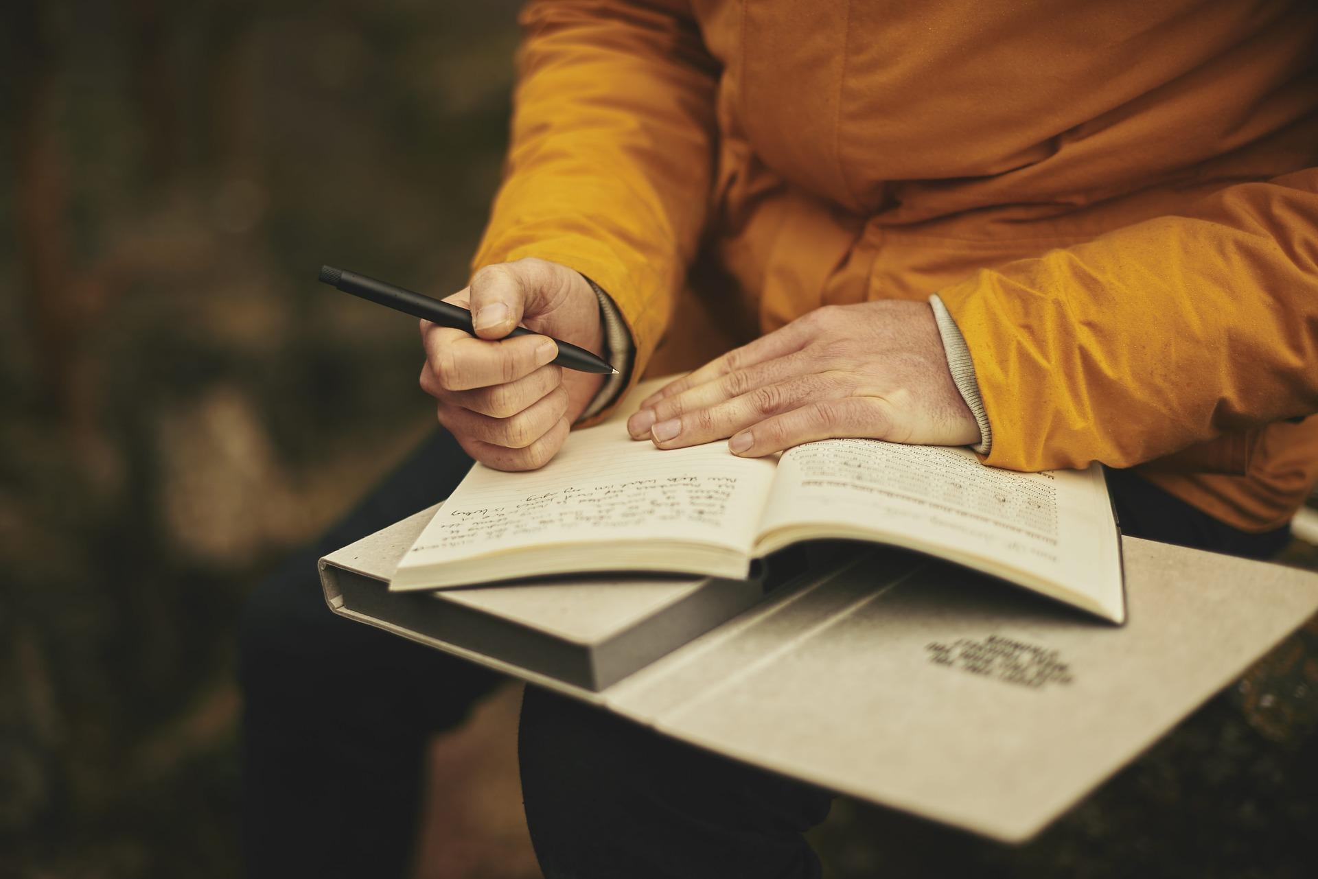 Warum du unbedingt ein Wandertagebuch schreiben solltest