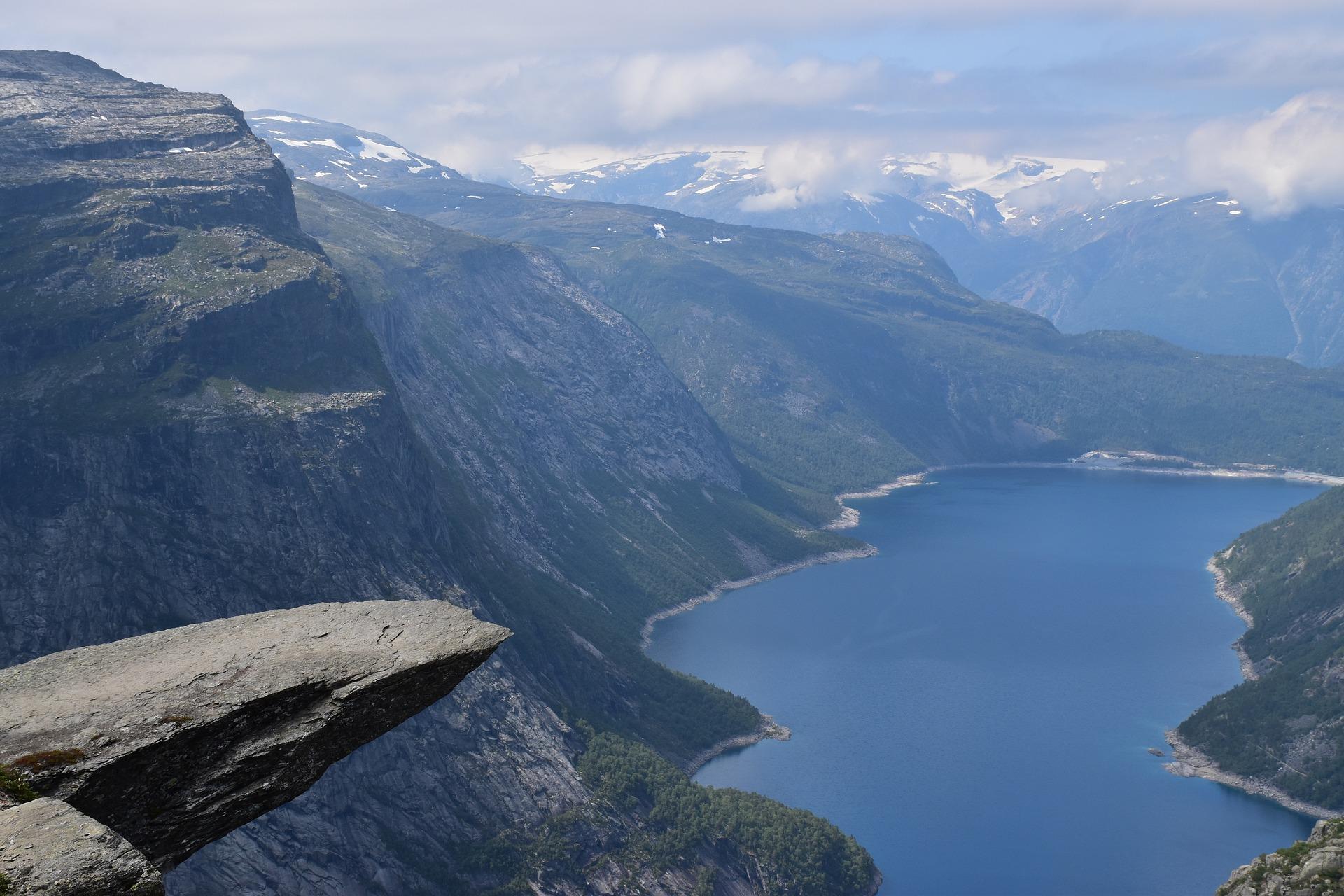Norwegen: Wanderung zur Trolltunga