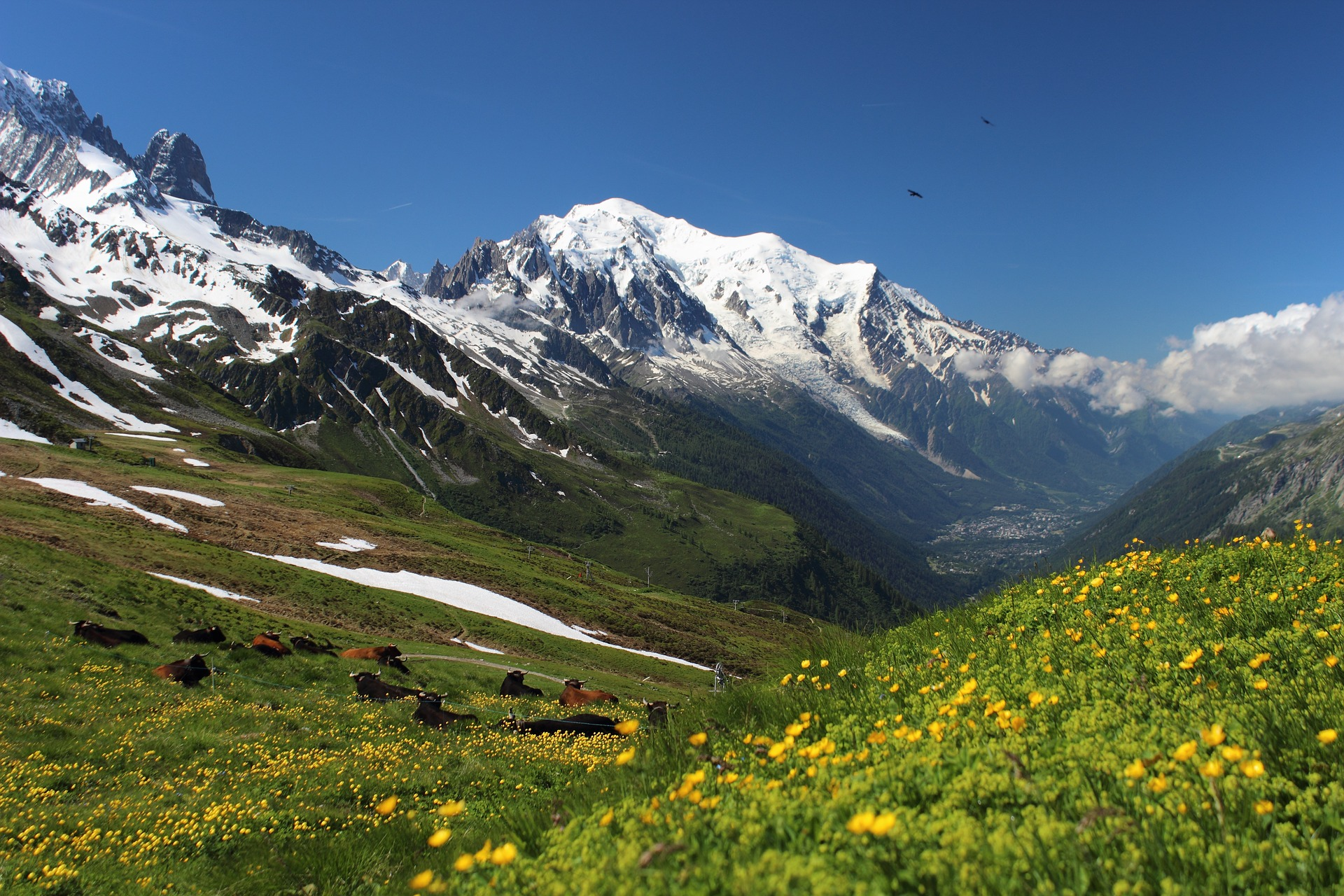Frankreich: Wanderung um den Mont Blanc