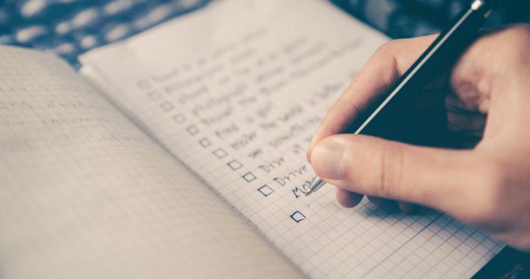 Checkliste für deine nächste Wandertour