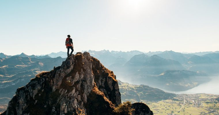 So motivierst du dich beim Trekking